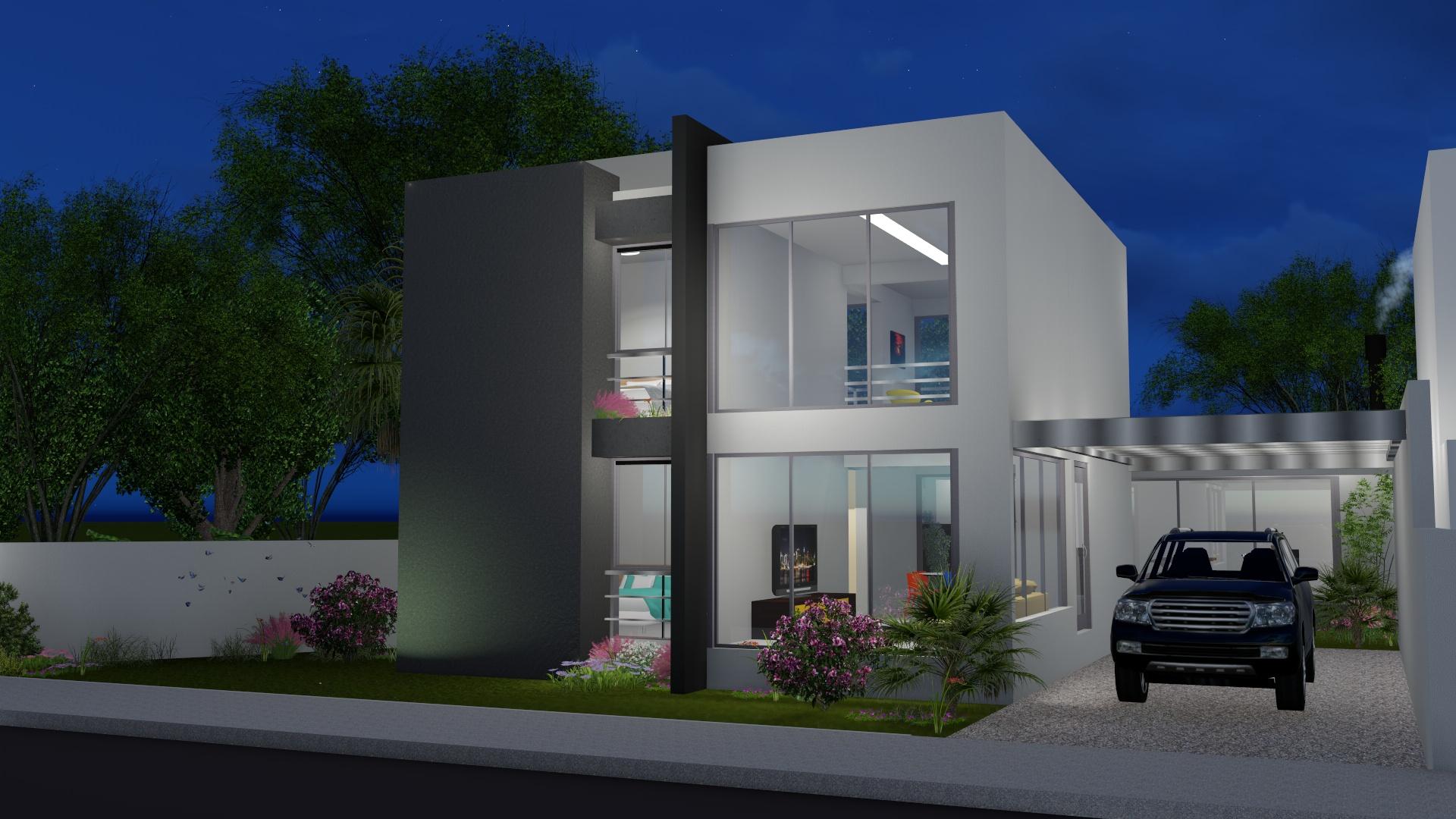Projeto de casa por Octus Arquitetura